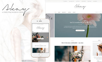 Akay WordPress Theme
