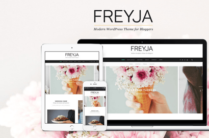 Freyja WordPress Theme