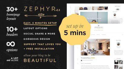 Zephyr Theme