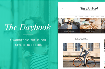 Daybook Blog Theme