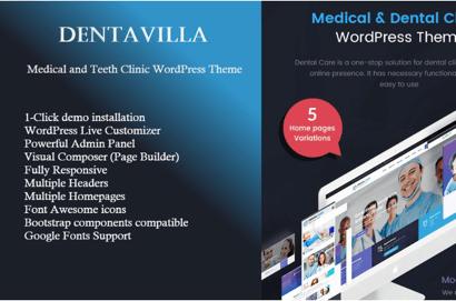 Dentavilla WordPress Theme