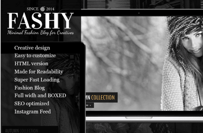 Fashy WordPress Blog Theme