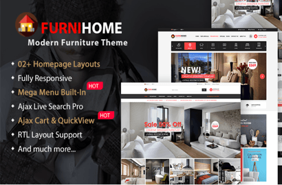 FurniHome Real Estate Theme