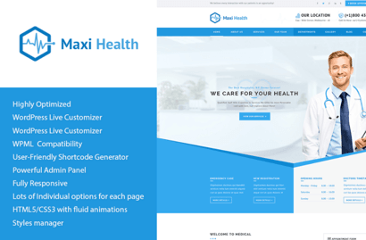 Maxi-Health-Medical-Theme-compressor