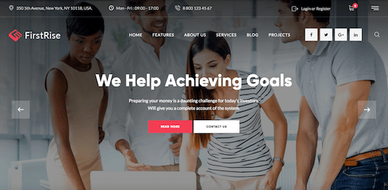 FirstRise Consulting Theme